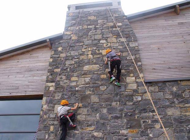 Chimney Climbing